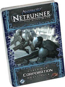 Android: Netrunner - Cyber War Corp Draft Pack