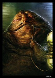 FFG Art Sleeves - Jabba the Hutt (50szt)