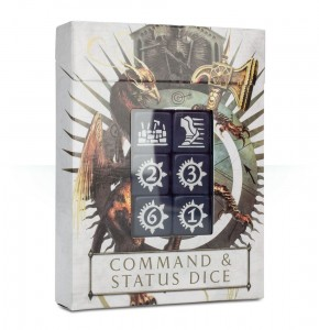 Warhammer Age of Sigmar: Command & Status Dice