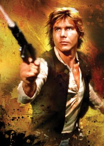 FFG Art Sleeves - Han Solo (50szt)