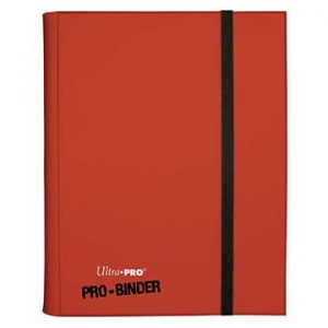 Ultra-Pro Album na karty PRO-Binder Eclipse 360 kart (Apple red) (#15146)