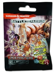 D&D Dice Masters: Battle for Faerun Gravity Feed Pack