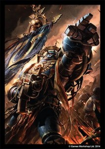 FFG Art Sleeves - Space Marines