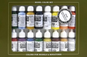 Vallejo 70140 Model Color - Basic Color USA Set (16 farb)
