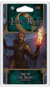 The Lord of the Rings: The Card Game – Ered Mithrin Cycle - Fire in the Night