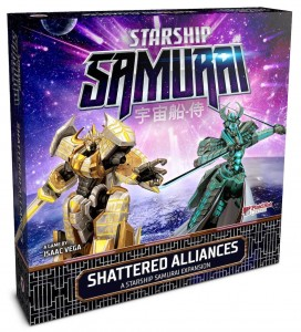 Starship Samurai: Shattered Alliances Expansion