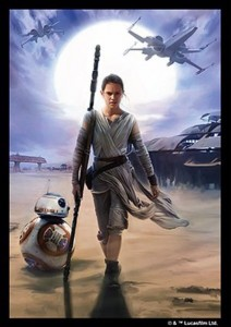 FFG Star Wars Art Sleeves - Rey (50szt)