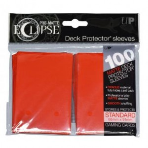 Koszulki Ultra-Pro Pro-Matte Eclipse (Apple Red) - 100szt.
