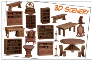 Hellboy: The Board Game – 3D Scenery