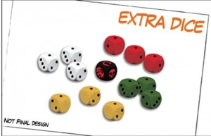 Hellboy: The Board Game – Extra Dice