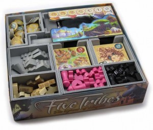 Folded Space - Insert Compatible with Five Tribes