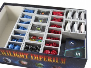 Folded Space - Insert Compatible with Twilight Imperium 4th Edition