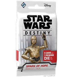 Star Wars: Destiny - Spark of hope booster pack (1szt)