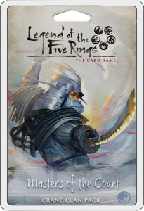 Legend of the Five Rings: The Card Game – Masters of the Court (Crane Clan Pack)