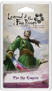 Legend of the Five Rings: The Card Game – For the Empire (Inheritance Cycle)