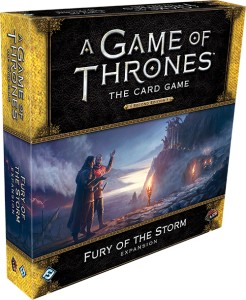 A Game of Thrones: The Card Game (Second Edition) – Fury of the Storm