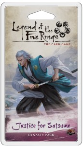 Legend of the Five Rings: The Card Game – Justice for Satsume (Inheritance Cycle)
