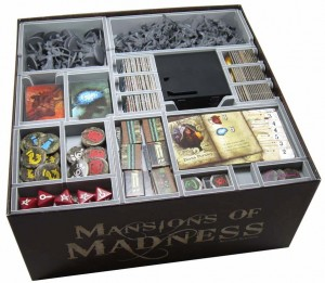 Folded Space - Insert Compatible with Mansions of Madness 2nd Edition