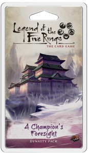 Legend of the Five Rings: The Card Game – A Champion's Foresight (Inheritance Cycle)