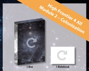 High Frontier 4 All - Module #2 (Colonization)