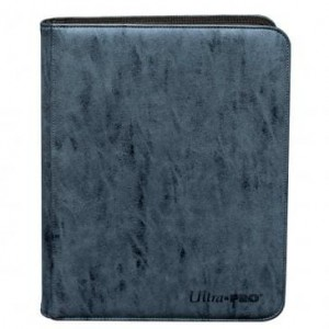 Ultra-Pro Suede Collection 9-Pocket Premium PRO-Binder (Sapphire)