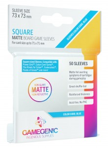Gamegenic: Matte Square-Sized Sleeves (73x73 mm), 50 sztuk