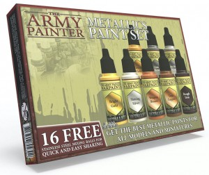 Warpaints Metallics Paint Set