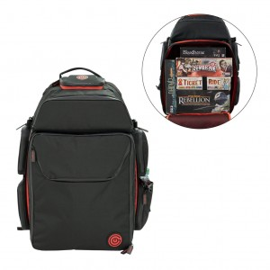 GeekOn! - The Ultimate Boardgame Backpack (Black/Red)