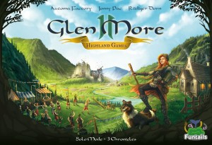 Glen More II: Chronicles - Highland Games expansion (Kickstarter edition)