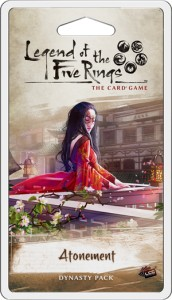 Legend of the Five Rings: The Card Game – Dominion Cycle - Atonement