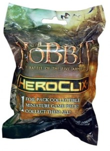 LOTR Heroclix: The Hobbit Battle of 5 Armies Gravity Feed Booster (1 fig.)