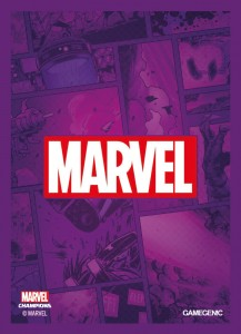 Gamegenic: MARVEL Art Sleeves (66 mm x 91 mm) Purple 50+1 szt.
