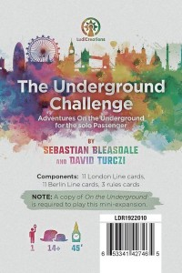 On The Underground: The Underground Challenge