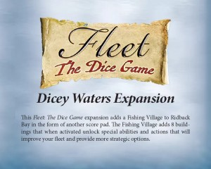Fleet: The Dice Game: Dicey Waters Expansion