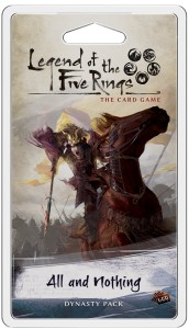 Legend of the Five Rings: The Card Game – Elemental Cycle - All and Nothing