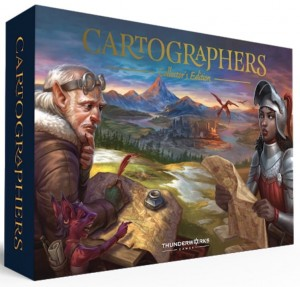Cartographers Heroes (Kickstarter Collector's Edition)