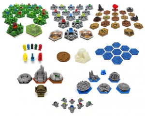 Full upgrade kit with expansions for Terraforming Mars (87 elementów)