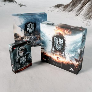 Frostpunk: The Board Game (Kickstarter Deluxe Pledge) (edycja polska)