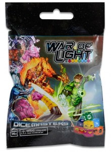 DC Comics Dice Masters: War of Light Gravity Feed Pack