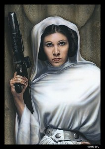 FFG Art Sleeves - Princess Leia (50szt)
