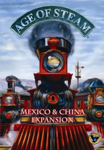 Age of Steam Expansion - Mexico & China