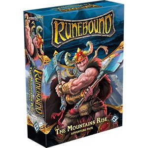 Runebound (Third Edition) – The Mountains Rise (Adventure Pack)
