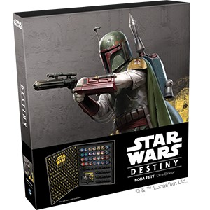 Star Wars Destiny - Boba Fett Dice Binder