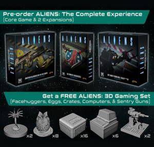 Aliens: Another Glorious Day in the Corps! (Full set with 3D tokens)