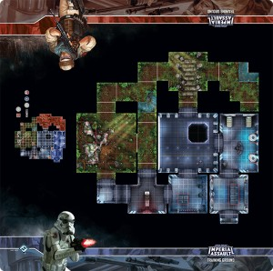 Imperial Assault - Training Ground Skirmish Map