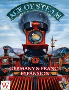 Age of Steam Expansion - Germany & France