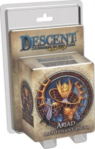 Descent 2nd Edition: Ariad Lieutenant Pack