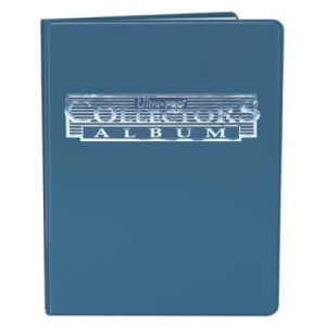 Ultra-Pro Album na karty 9-Pocket Collectors Portfolio (niebieski) (#81367)