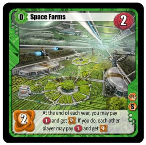 Among the Stars (Pośród Gwiazd): Space Farms Promo (2 karty)