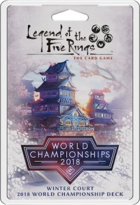 Legend of the Five Rings: The Card Game – Winter Court 2018 World Championship Deck